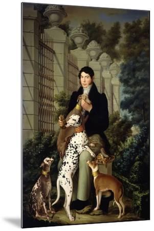 Cuidador De Los Perros De Aranjuez-Francisco Lacoma Y Fontanet-Mounted Giclee Print