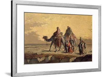 Desert Scene, C. 1863-Francisco Lameyer-Framed Giclee Print