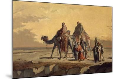 Desert Scene, C. 1863-Francisco Lameyer-Mounted Giclee Print