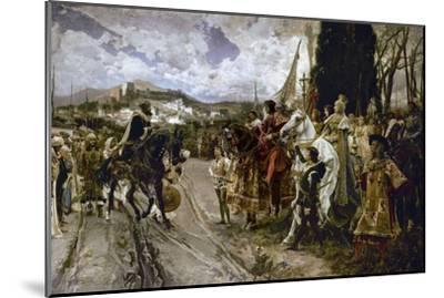 The Surrender of Granada in 1492-Francisco Pradilla Y Ortiz-Mounted Giclee Print