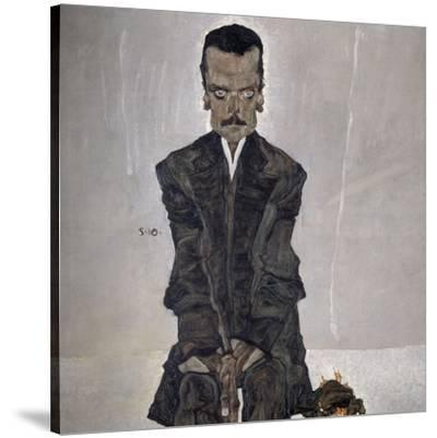 Portrait of the Publisher Eduard Kosmack, 1910-Egon Schiele-Stretched Canvas Print