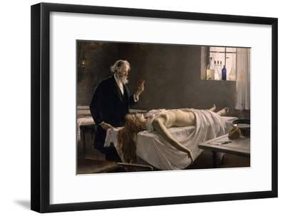 And She Had a Heart!, 1890-Enrique Simonet Y Lombardo-Framed Giclee Print