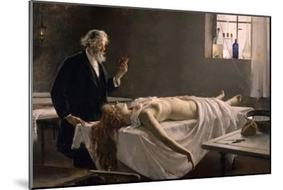 And She Had a Heart!, 1890-Enrique Simonet Y Lombardo-Mounted Giclee Print