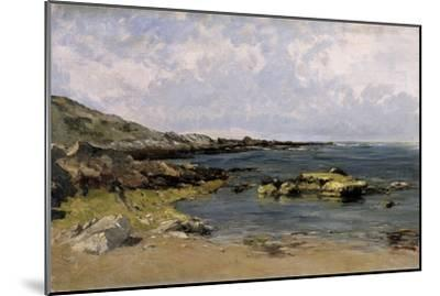 Low Tide (Guethary), Ca. 1881-Carlos de Haes-Mounted Giclee Print