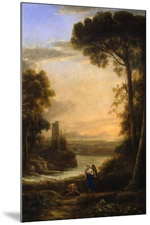 The Archangel Raphael and Tobias, 1639-1640-Claude Lorraine-Mounted Giclee Print