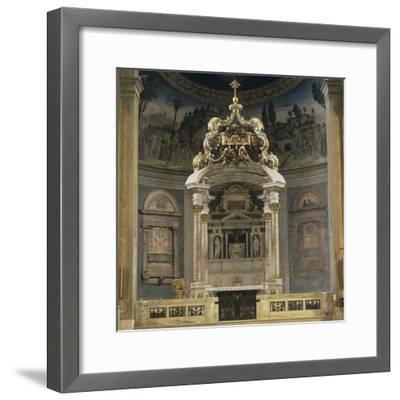 Church of the Holy Cross of Jerusalem-Domenico & Pietro Gregorini & Passalacqua-Framed Photo