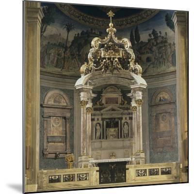 Church of the Holy Cross of Jerusalem-Domenico & Pietro Gregorini & Passalacqua-Mounted Photo