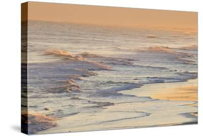 Water Patterns at Sunset-Brian Gordon Green-Stretched Canvas Print