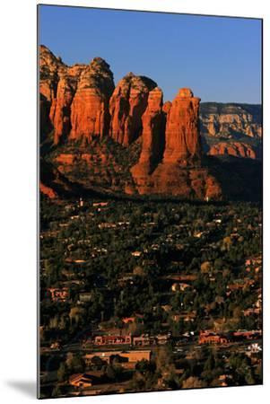 Morning Sunlight on the Red Rocks Rock Formation-Babak Tafreshi-Mounted Photographic Print