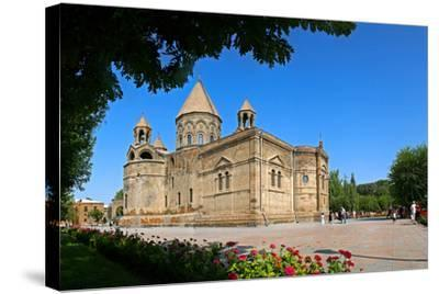 Etchmiadzin Cathedral, Armenia, One of the World's Oldest Churches and a World Heritage Site-Babak Tafreshi-Stretched Canvas Print