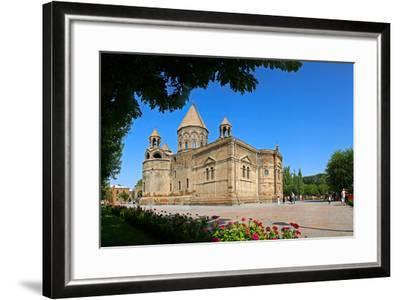 Etchmiadzin Cathedral, Armenia, One of the World's Oldest Churches and a World Heritage Site-Babak Tafreshi-Framed Photographic Print