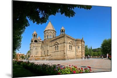 Etchmiadzin Cathedral, Armenia, One of the World's Oldest Churches and a World Heritage Site-Babak Tafreshi-Mounted Photographic Print