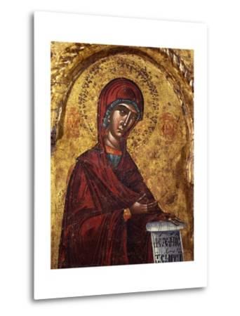 Virgin Mary- Nicholas-Metal Print