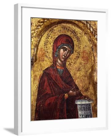 Virgin Mary- Nicholas-Framed Art Print