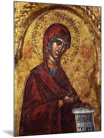 Virgin Mary- Nicholas-Mounted Art Print