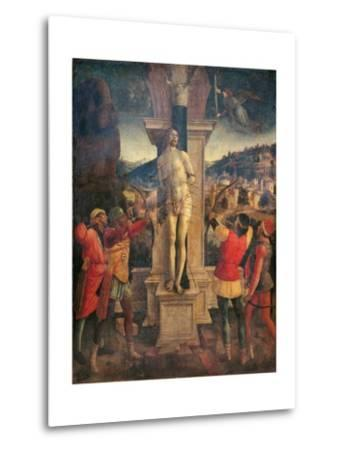 Martyrdom of Saint Sebastian-Vincenzo Foppa-Metal Print