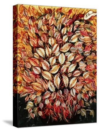Leaves-Seraphine (de Senlis) Louis-Stretched Canvas Print