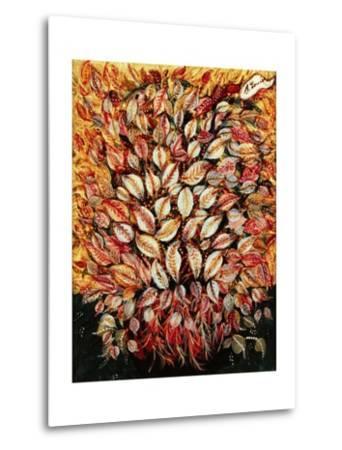 Leaves-Seraphine (de Senlis) Louis-Metal Print