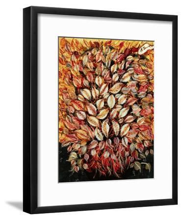 Leaves-Seraphine (de Senlis) Louis-Framed Art Print