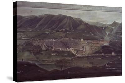 Terni Landscape-Orneore Metelli-Stretched Canvas Print