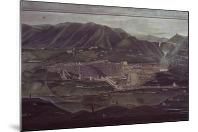 Terni Landscape-Orneore Metelli-Mounted Art Print