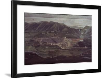 Terni Landscape-Orneore Metelli-Framed Art Print
