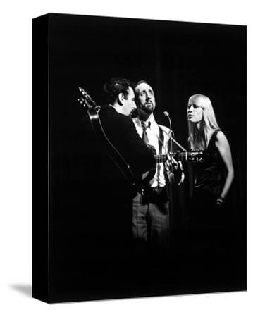 Peter, Paul and Mary--Stretched Canvas Print