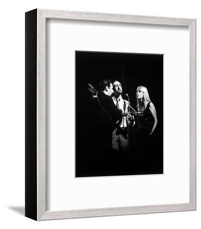 Peter, Paul and Mary--Framed Photo
