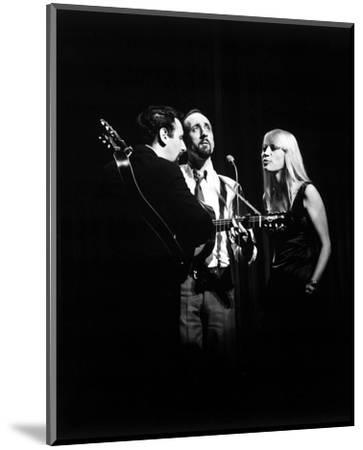 Peter, Paul and Mary--Mounted Photo