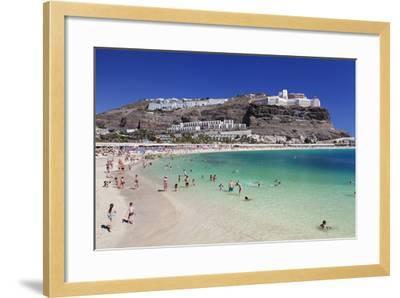 Playa De Los Amadores, Gran Canaria, Canary Islands, Spain, Atlantic, Europe-Markus Lange-Framed Photographic Print
