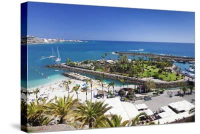 Aerial View of Anfi Del Mar-Markus Lange-Stretched Canvas Print
