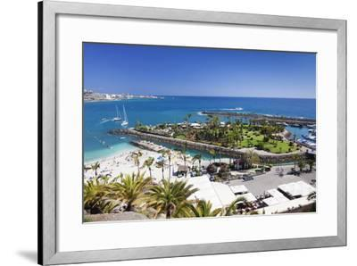 Aerial View of Anfi Del Mar-Markus Lange-Framed Photographic Print