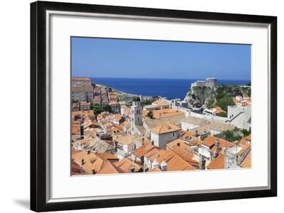 Old Town, UNESCO World Heritage Site, Dubrovnik, Dalmatia, Croatia, Europe-Markus Lange-Framed Photographic Print