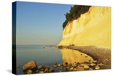 Sunrise at the Chalk Cliffs-Jochen Schlenker-Stretched Canvas Print