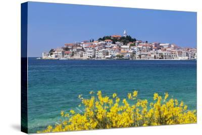 Primosten, Dalmatian Coast, Croatia, Europe-Markus Lange-Stretched Canvas Print