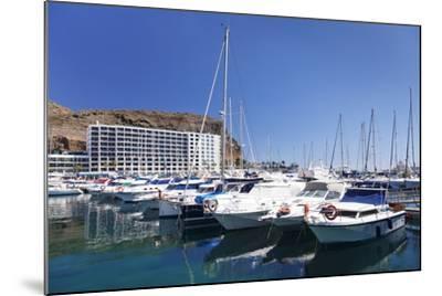 Marina, Puerto Rico, Gran Canaria, Canary Islands, Spain, Atlantic, Europe-Markus Lange-Mounted Photographic Print