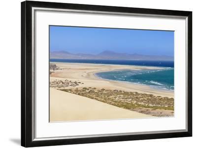 Dunes at Playa De Sotavento-Markus Lange-Framed Photographic Print