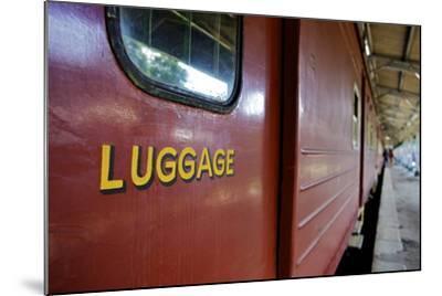 Train at Platform, Kandy Train Station, Kandy, Sri Lanka, Asia-Simon Montgomery-Mounted Photographic Print