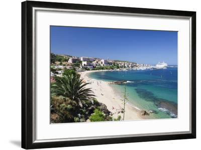 Propriano, Gulf of Valinco, Corsica, France, Mediterranean, Europe-Markus Lange-Framed Photographic Print
