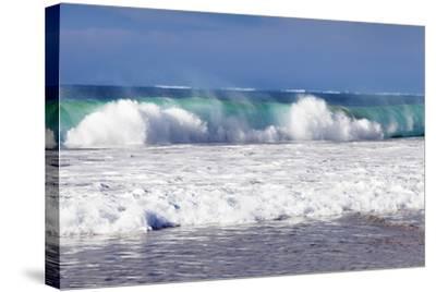 Waves at the Beach, Playa Del Castillo, El Cotillo-Markus Lange-Stretched Canvas Print