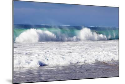 Waves at the Beach, Playa Del Castillo, El Cotillo-Markus Lange-Mounted Photographic Print