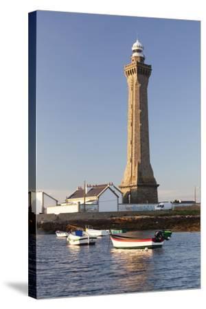Lighthouse of Phare D'Eckmuhl, Penmarc'H, Finistere, Brittany, France, Europe-Markus Lange-Stretched Canvas Print