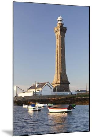 Lighthouse of Phare D'Eckmuhl, Penmarc'H, Finistere, Brittany, France, Europe-Markus Lange-Mounted Photographic Print