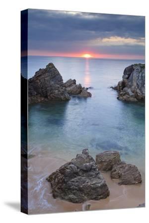 Quiberon Peninsula, Cote Sauvage, Cote De Morbihan, Brittany, France, Europe-Markus Lange-Stretched Canvas Print