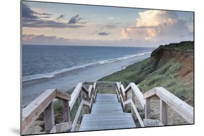 Red Cliff, Kampen, Sylt, North Frisian Islands, Nordfriesland, Schleswig Holstein, Germany, Europe-Markus Lange-Mounted Photographic Print