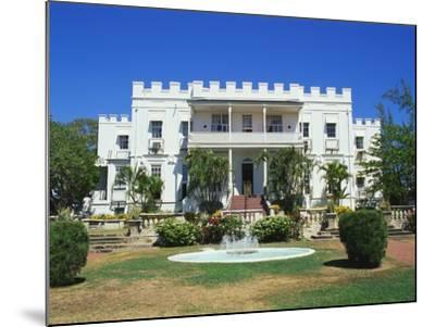 Sam Lords Castle Holiday Resort, Barbados, Caribbean-Hans Peter Merten-Mounted Photographic Print