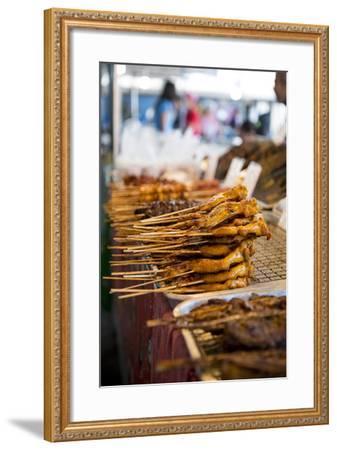 Market, Lamai, Ko Samui Island, Surat Thani, Thailand, Southeast Asia, Asia-Ben Pipe-Framed Photographic Print