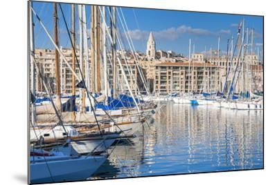View across the Vieux Port-Nico Tondini-Mounted Photographic Print