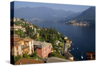 Torno from Moltrasio, Lake Como, Lombardy, Italian Lakes, Italy, Europe-Charles Bowman-Stretched Canvas Print