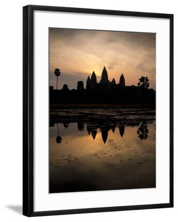 Sunrise over Angkor Wat-Ben Pipe-Framed Photographic Print